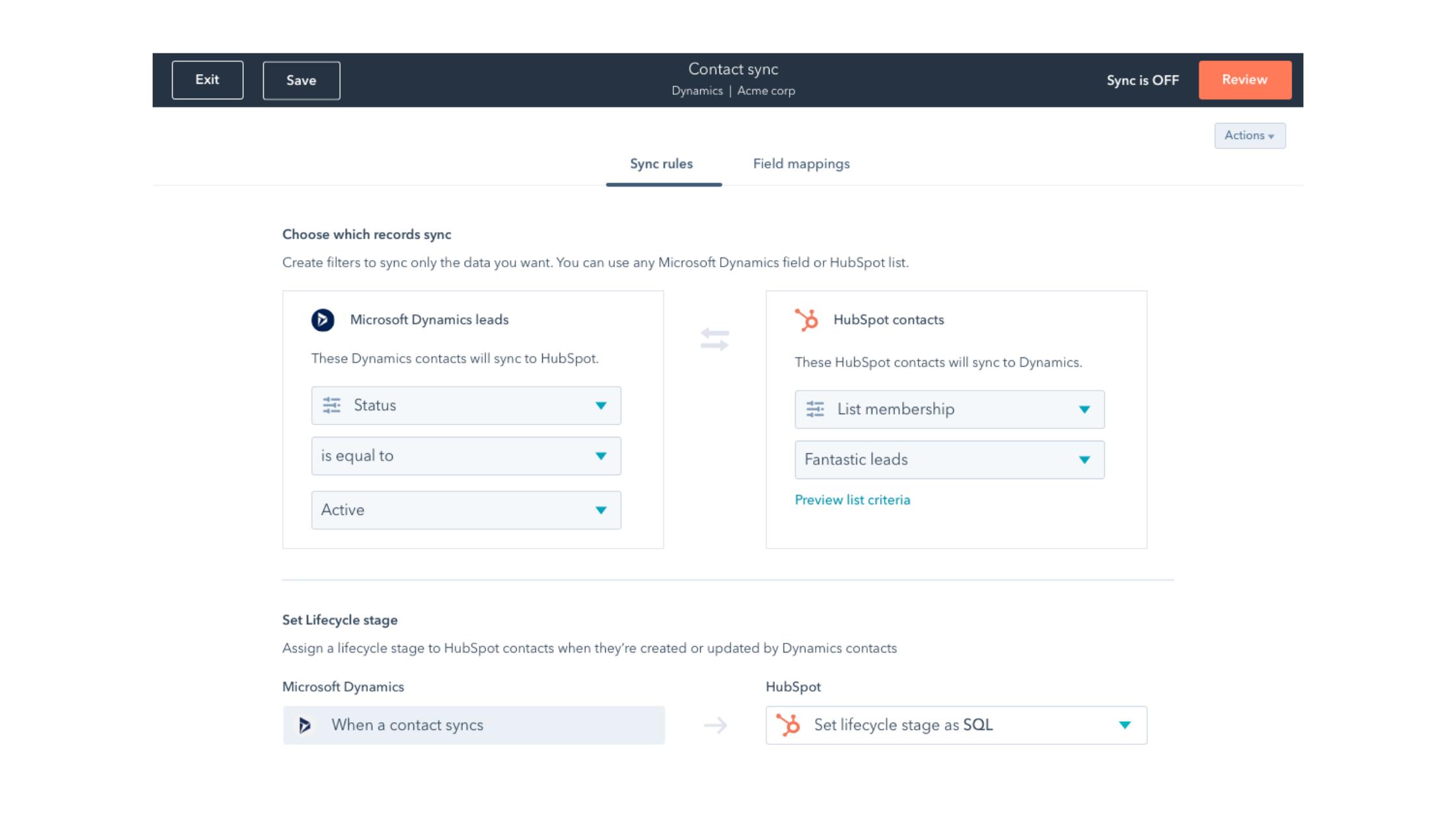 Sync & Clean Customer Data